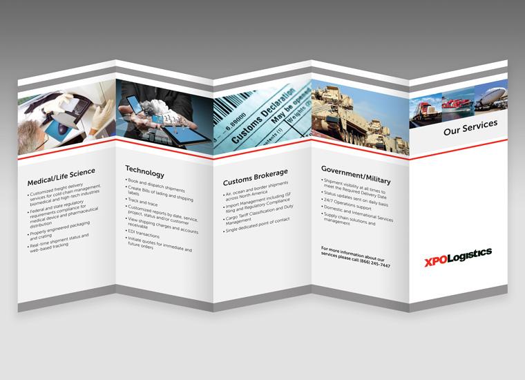 Gary Cole Design - Tri-fold Brochures