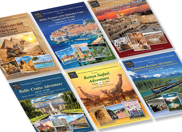 Gary Cole Design - InterTrav Travel Brochures