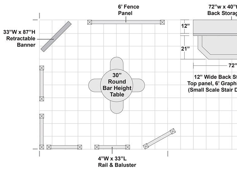 Trade Show Booth Space Planning