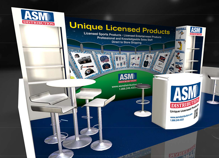 Trade Show Booth Design and Graphics