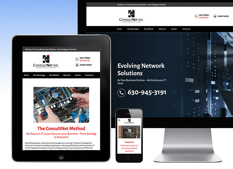 Gary Cole Design - ConsultNet Inc Website