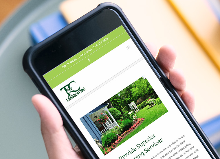 Gary Cole Design - TC Landscaping Website