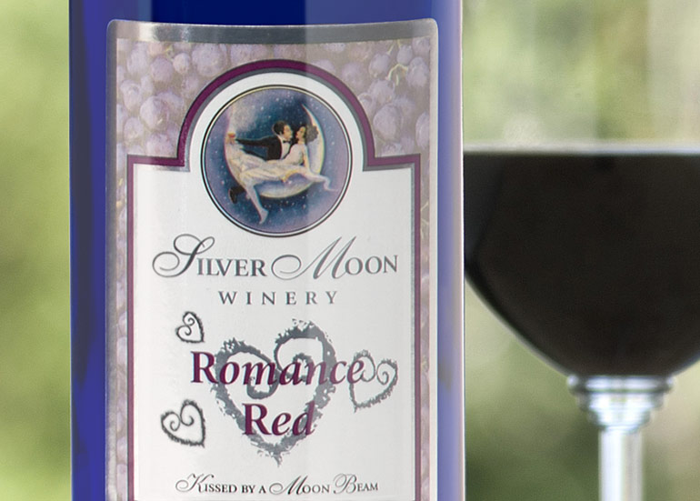 Silver Moon Winery - Label Design