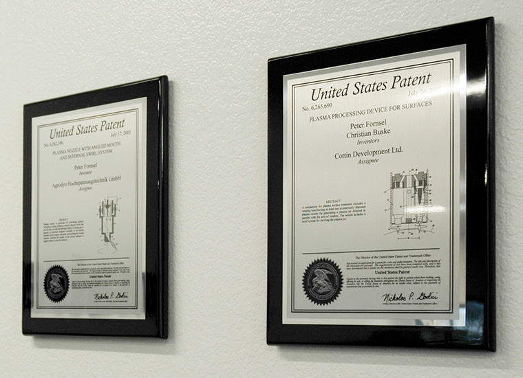 Patent Plaques