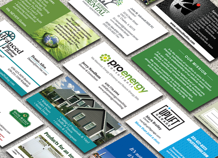 Gary Cole Design - Business Card Design